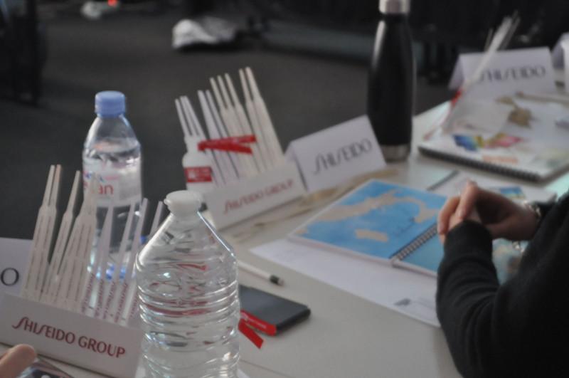 Conférence Shiseido à Lyon.