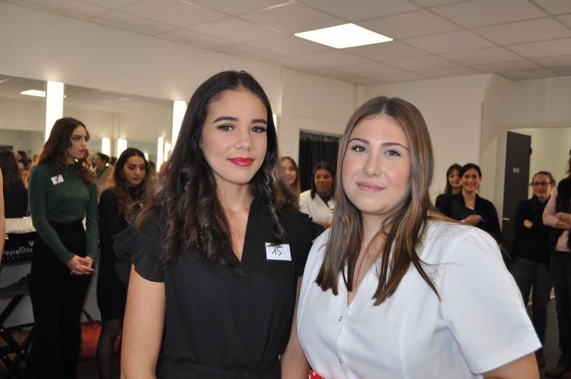 Flavie Lardo  concours Make-Up Noël