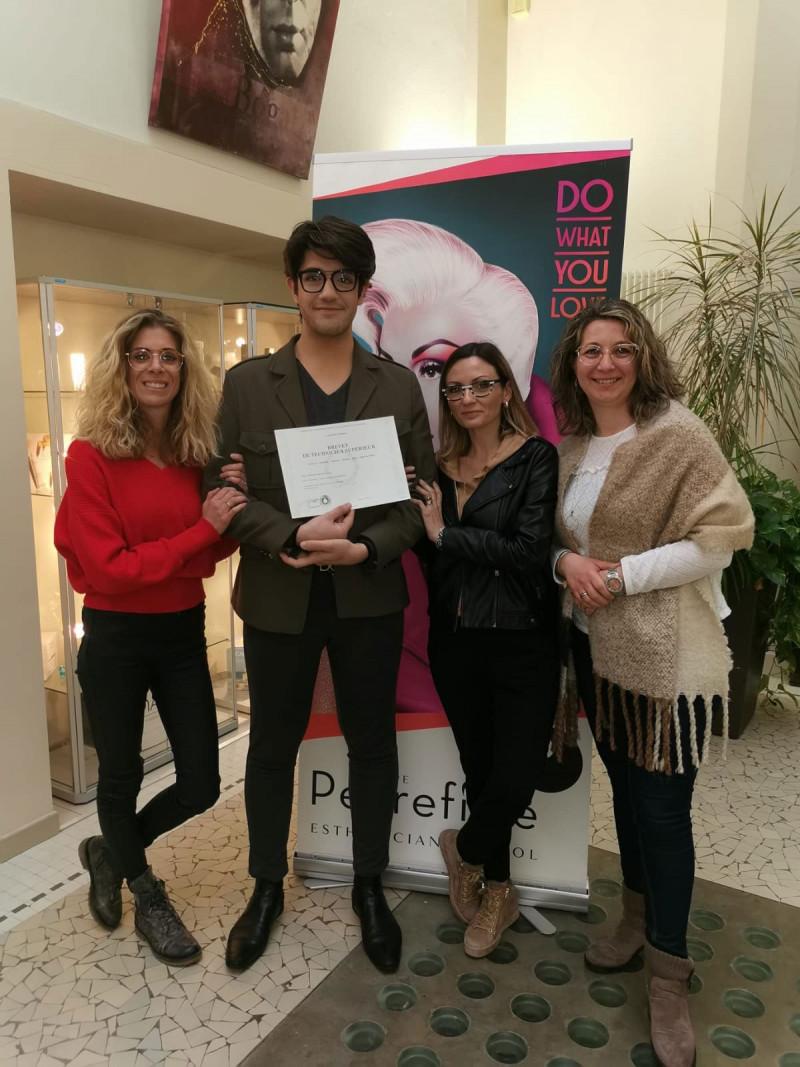 Remise de diplôme BTS MECP - Aix-les-Bains