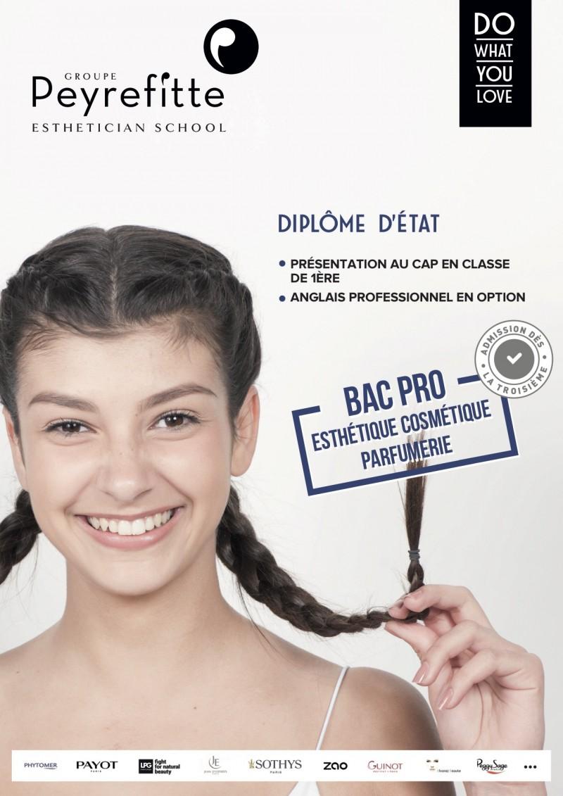 Fiche formation BAC PRO Esthétique Cosmétique Parfumerie